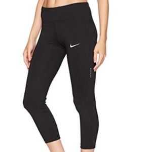 Nike Dri Fit Black Capri Leggings Size S